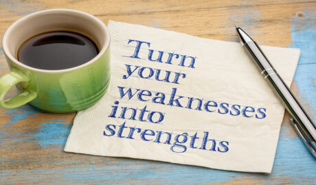 weakness into strength