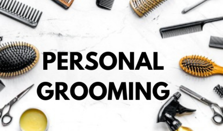 personal grooming items